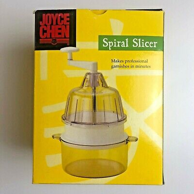 Joyce Chen Spiral Slicer Makes Professional Garnishes In Minutes Boxed From UK