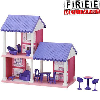 Barbie Dream House Cottage Dollhouse Furniture Girls Playhouse Play Fun