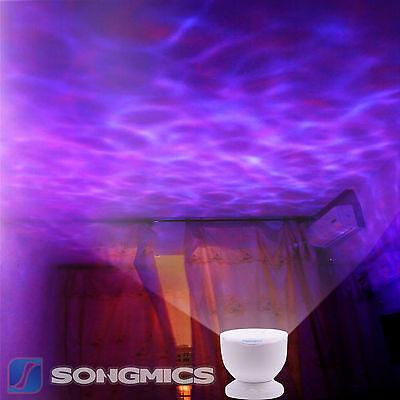 Ozean Meer LED Nachtlicht Projektor Partei Kinder 8 Licht-Effekte Musik FSL005