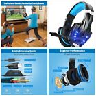 Blue USB Computer Headsets