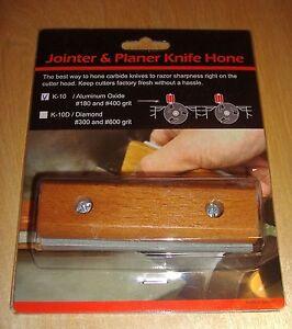 Jointer / Planer Blade Sharpener / Knife Hone & Holder Reversible Sharpening Stn