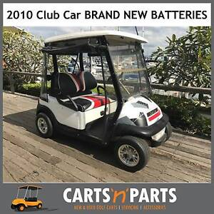 CLUB CAR GOLF CART BUGGY 2010 – NEW 2017 BATTERIES & NEW CHARGER Hope Island Gold Coast North Preview