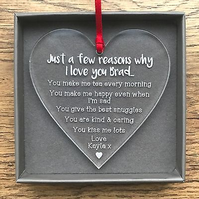 Personalised Valentines Day Gifts For Him Her Husband Wife Men Decoration Gifts - Valentines Day Decoration