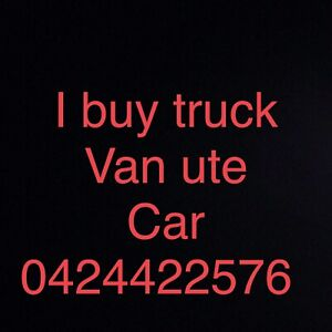 Wanted: Sell your unwanted truck van hiace ute Hilux Toyota car for cash