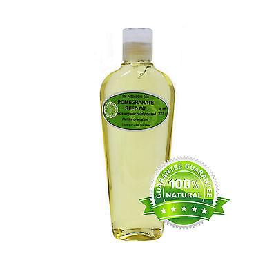 Premium 8 Oz Pomegranate Seed Oil Pure Organic Cold Pressed Best Multi (Best Pomegranate Seed Oil)