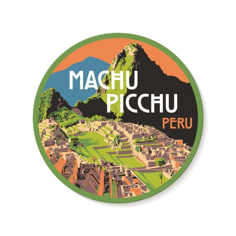 Macchu Picchu Peru Decal Sticker