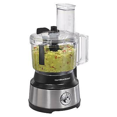 Hamilton Beach Bowl Scraper 10 Cup Food Processor - Black 70730