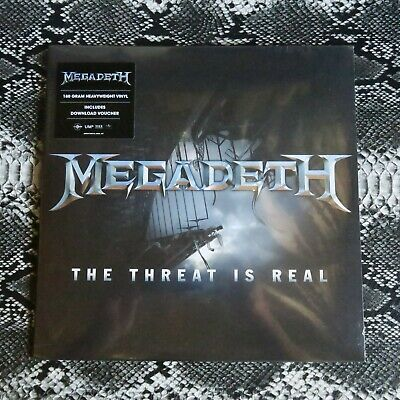Megadeth – The Threat Is Real Sealed 12
