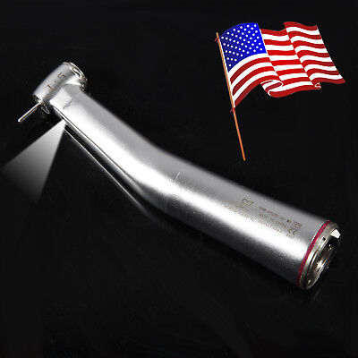 Dental 1:5 increaing Electric Optic LED Contra Angle Handpiece Mini for KAVO NSK
