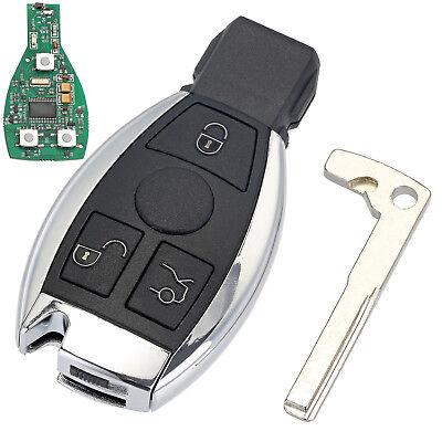 Für Mercedes Benz Jahren 2000 433MHz Autoschlüssel Ersatz Key Cover Gehäuse