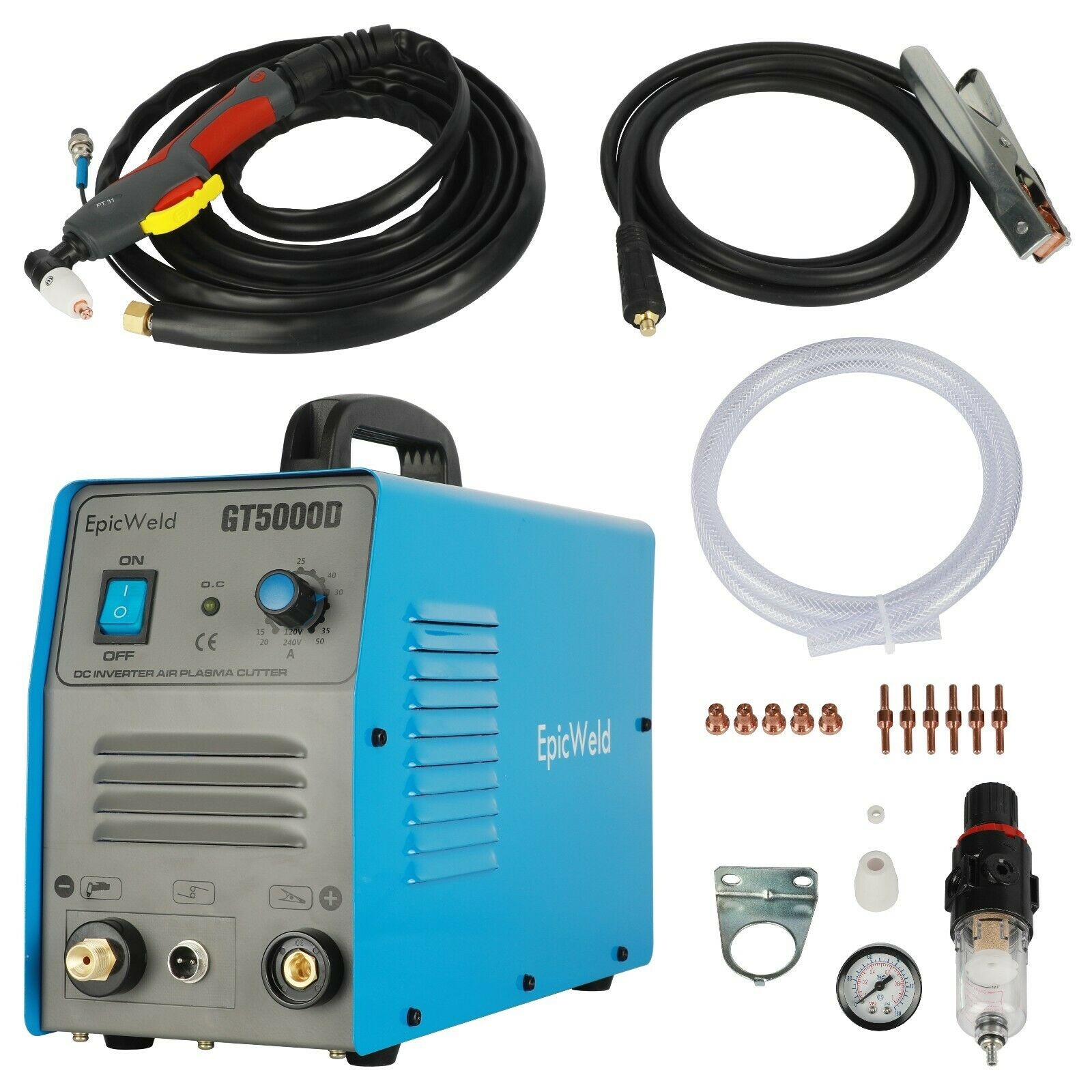 Epicweld 50 Amp Plasma Cutter Works On 110 Or 220 Volts 1