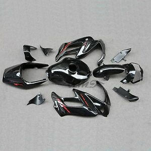 Black ABS Fairing Bodywork Set For Honda VTR1000F SuperHawk 1997-2005 98 00 04