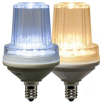 LED Commercial Strobe Light Bulbs C7 Base Heavy Duty Outdoor Christmas Light ()