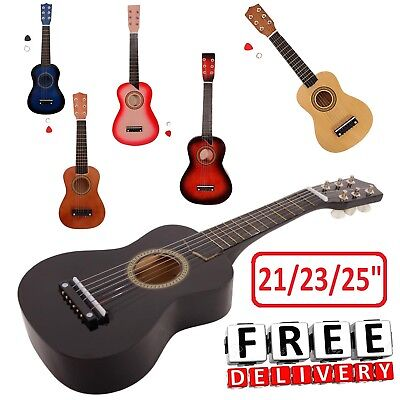 Small Guitar (Mini Acoustic Guitar Small Travel Kid Children Beginners Junior Youth)