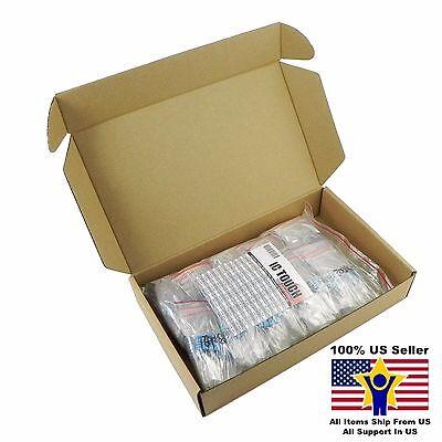 100value 500pcs 3w Metal Film Resistor -1 Assortment Kit Us Seller Kitb0145