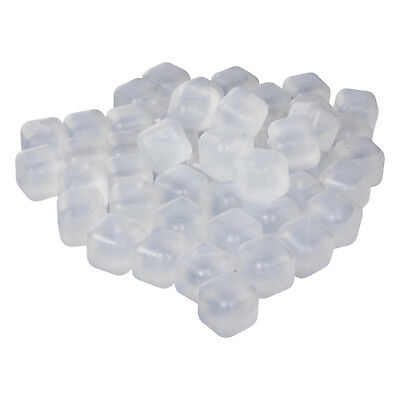 Party Kunststoff klar wiederverwendbar Eis Cube  Geburtstag (Klar, Party)