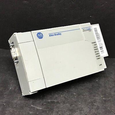Allen Bradley 1764-lrp Ser C Rev A Frn 6 Micrologix 1500 Cpu Processor Unit Plc