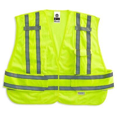 Glowear Public Safety Vest (Ergodyne GloWear 8244PSV ANSI High Visibility Expandable Public Safety Vest )