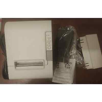 Epson Tm T88iv M129h Plus Power Port Pos Printer White New Open Box