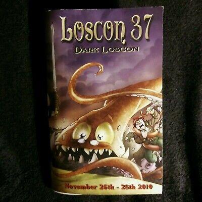 Dark Loscon 37 TPB Nov 26th-28th 2010 Program Urban Fantasy Steampunk Sci F Noir (Dark Urban Fantasy)