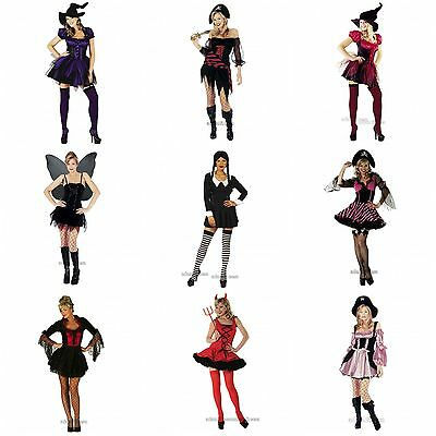 Womens Sexy Halloween Fancy Dress Party Costumes Many Styles Size XS S M L XL](Burlesque Style Halloween Costumes)