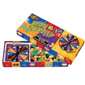 4th Edition 1 Jelly Belly Spinner Game Box + 3 3th Edition Bean Boozled