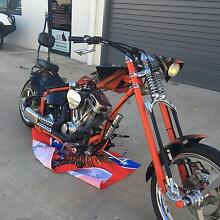 1971 custom chopper hand built great bike rides great Brendale Pine Rivers Area Preview