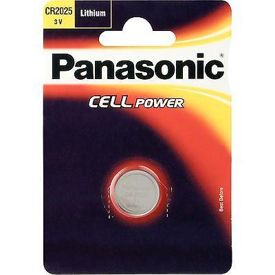 Panasonic Knopfzellen CR2025L/1BP, Batterie, silber (Panasonic Cr2025)