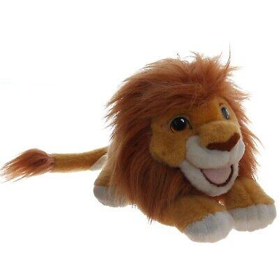 Disney König der Löwen Mufasa Simba Handpuppe mit Sound Stofftier Plüsch 1993 (König Der Löwen Puppe)