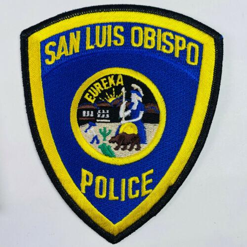 San Luis Obispo Police San Luis Obispo County California CA Patch (B7-A)