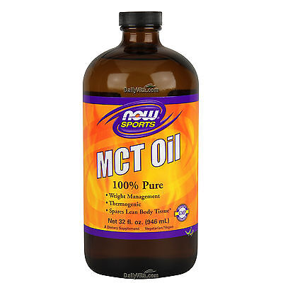 Now Foods Mct Oil 32 Oz  100  Pure  Weight Management  Spares Lean Body Tissue