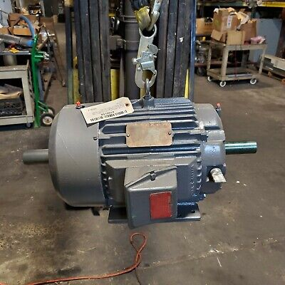 Reliance 10 Hp Electric Ac Motor 230460 Vac 1750 Rpm 215tz Frame 3 Phase
