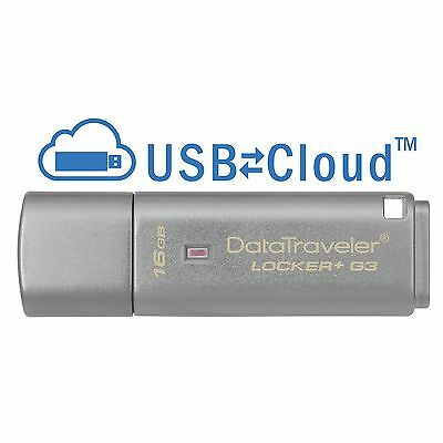 Usado, Kingston Datatraveler Locker + G3 16gb USB 3.0 Memoria Flash Pen Drive segunda mano  Embacar hacia Spain