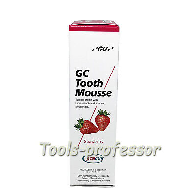 Dental Gc America Tooth Mousse 40g35ml Strawberry