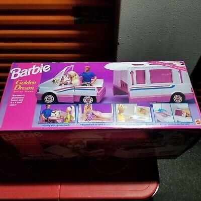 Vintage Barbie Golden Dream Motor Home MATTEL 1992 BOX SEALED