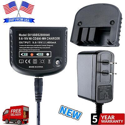 For BLACK+DECKER Battery Charger 9.6V-18V NiCd & NiMh HPB18 -