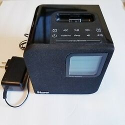 iHome iH120B iPod/iPhone (30 pin port) Radio Charging Dock Speaker Alarm Clock