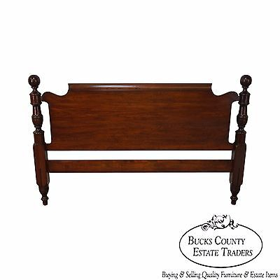 Pennsylvania House Solid Cherry Queen Size Cannonball Headboard