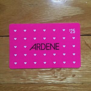 ARDENE $25 Giftcard - Clothing Clothes Accessories Shoes Bags