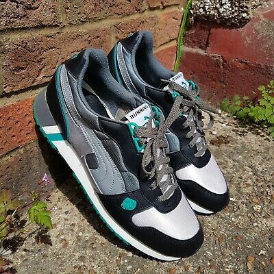 Vintage 80s Puma Interact Running Collection Trainers. Size UK 11
