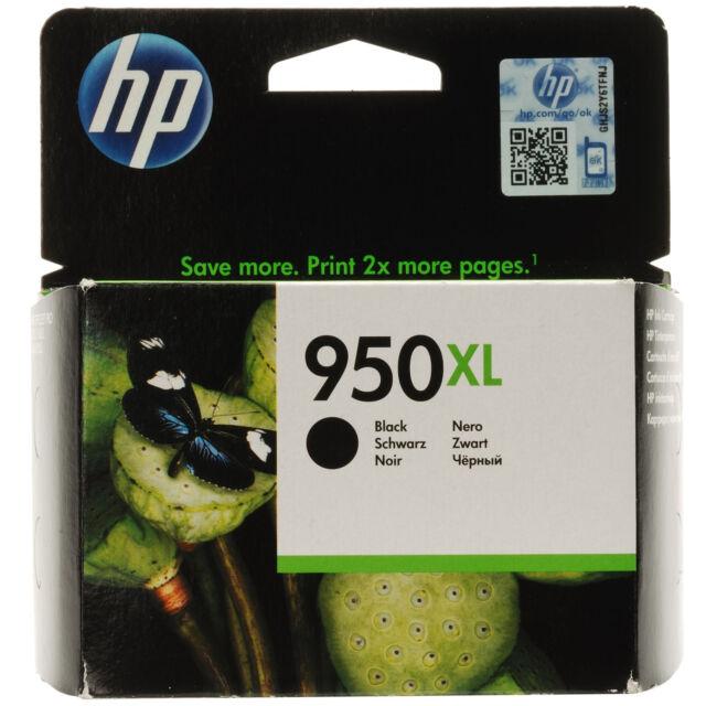 GENUINE OEM HP OFFICEJET PRO HIGH CAPACITY BLACK INK CARTRIDGE - 950xl / CN045AE