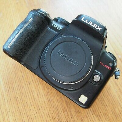 PANASONIC GH2 BODY WITH ACCESSORIES, MICRO FOUR THIRDS, M43, M4/3, FULLY WORKING
