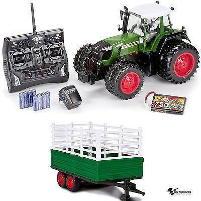 Carson 1:14 RC Traktor Fendt 930 2,4 GHz 100% RTR 500907172 mit Anhänger