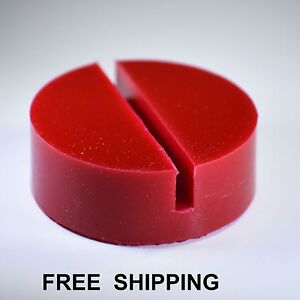 1 ea. Universal RED  Floor Jack Disk Pad Adapter for Pinch Weld Side JACKPAD