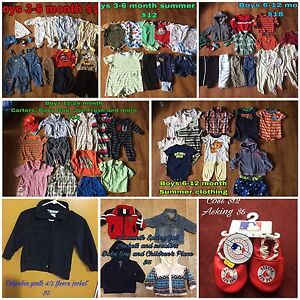 Baby boy clothing 0-24 months and 4t