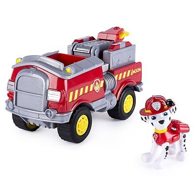 Paw Patrol Marshall's Forest Fire Truck Figure and Vehicle