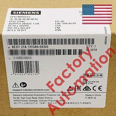 20182019 Siemens S7-1200 Cpu 1214c 6es7 214-1hg40-0xb0 6es7214-1hg40-0xb0