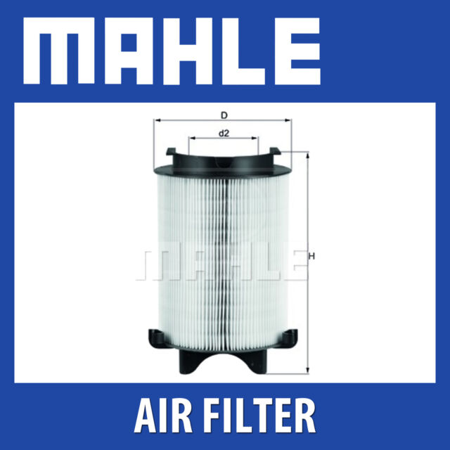 Mahle Air Filter LX1566 - Fits Audi A3, VW Golf, Touran - Genuine Part