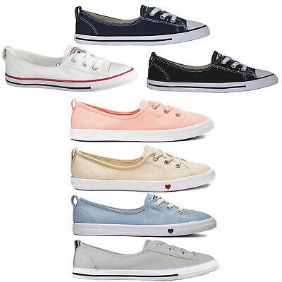 Converse CT Ballet Lace Slip Damen-Halbschuhe Sneaker Turnschuhe Sportschuhe Converse Sneakers Slip