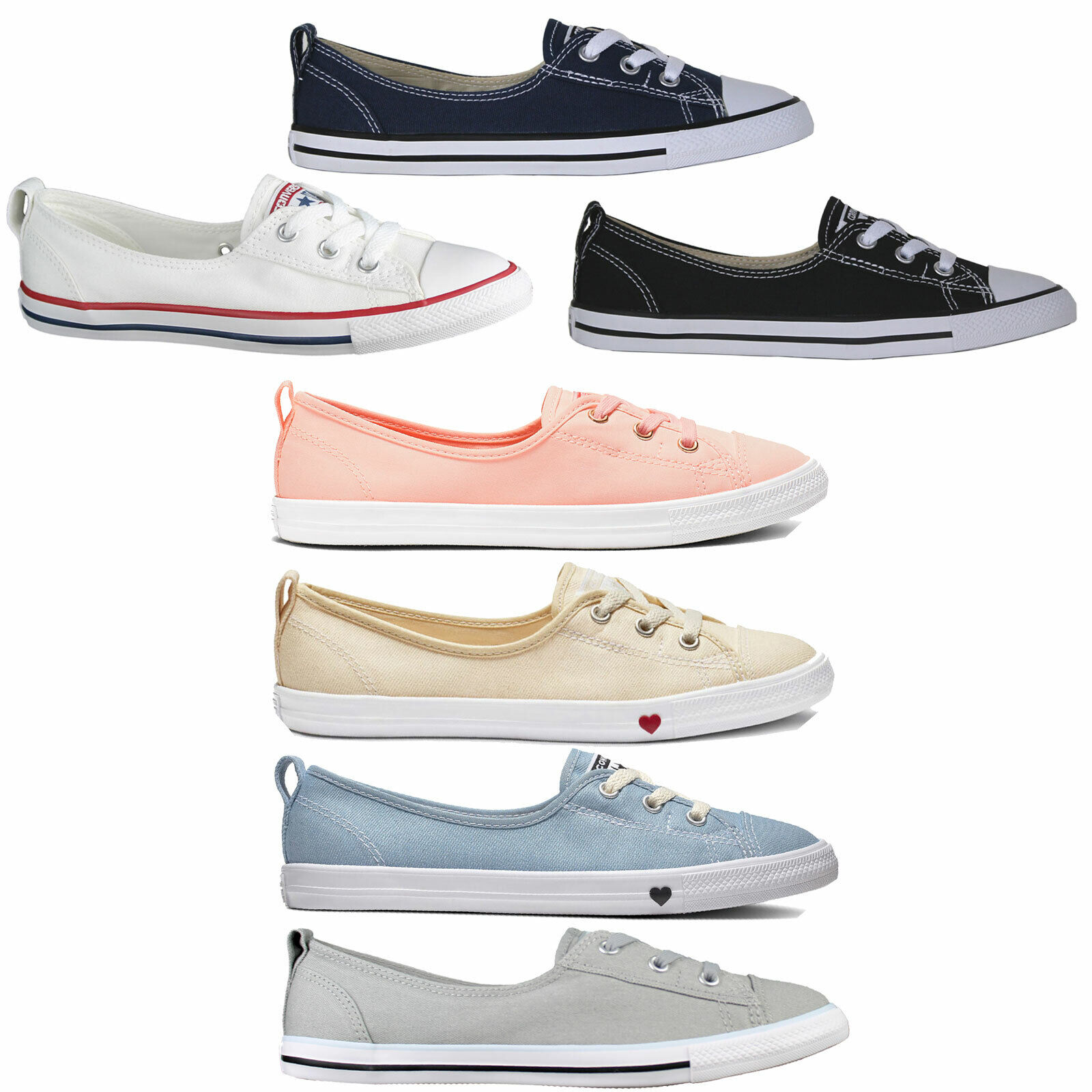 Converse CT Ballet Lace Panties Damenloafers Shoes Trainers